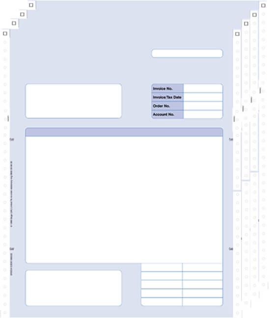 Sage Continuous Invoice 4 Part 060524