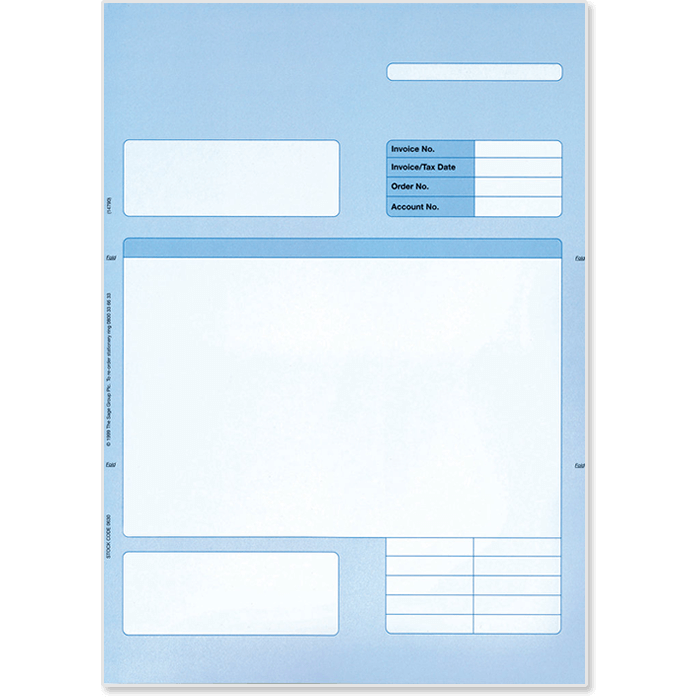 Sage Original invoice blue 0630