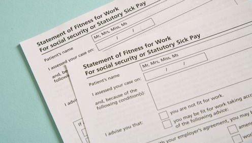 statutory sick pay form