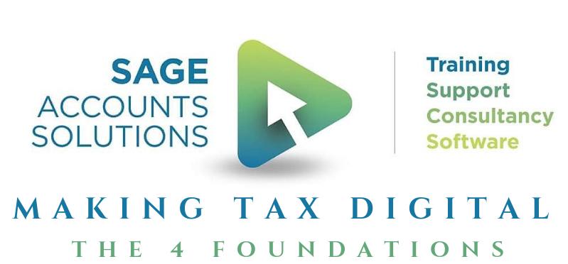 SAS header and Making Tax digital header